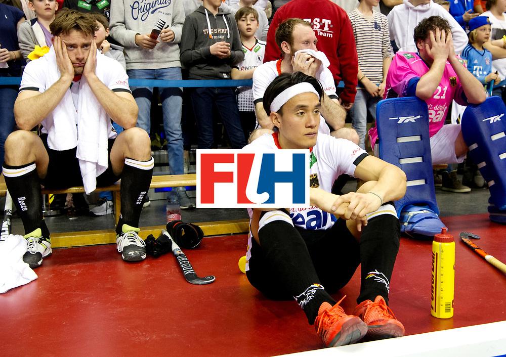 BERLIN - Indoor Hockey World Cup<br /> Final: Germany - Austria<br /> Austria wins the world championship.<br /> foto: Dan Nguyen.<br /> WORLDSPORTPICS COPYRIGHT FRANK UIJLENBROEK