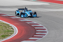 February 12, 2019 - U.S. - AUSTIN, TX - FEBRUARY 12: Max Chilton (59) in a Chevrolet powered Dallara IR-12 at turn 2 during the IndyCar Spring Training held February 11-13, 2019 at Circuit of the Americas in Austin, TX. (Photo by Allan Hamilton/Icon Sportswire) (Credit Image: © Allan Hamilton/Icon SMI via ZUMA Press)