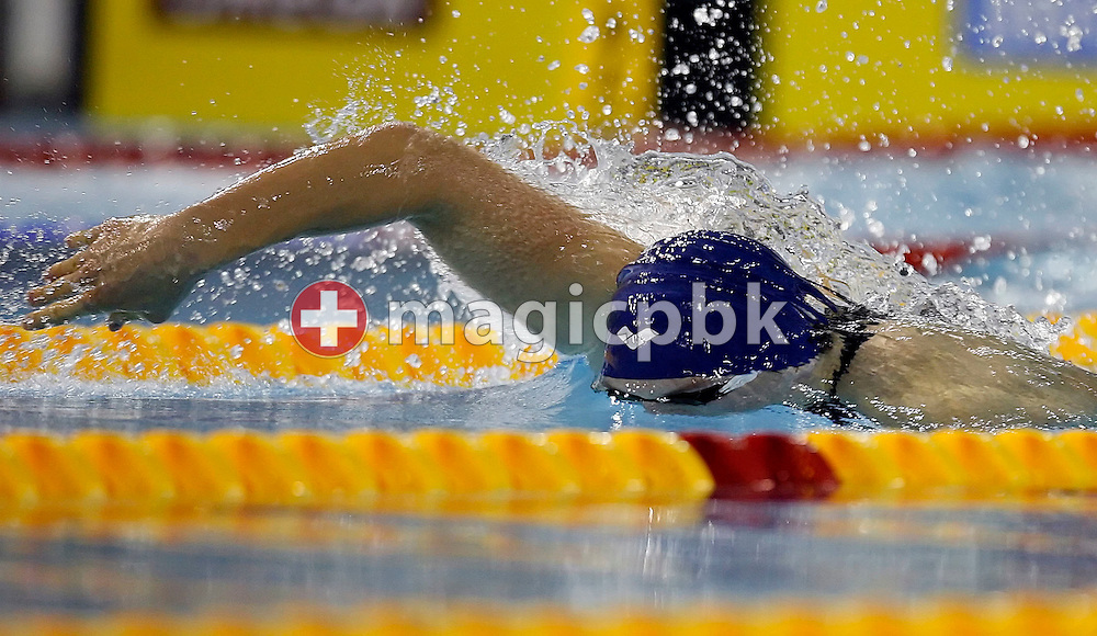 David Brandl of Austria competes in the men's 100m freestyle heat on day two at the European Short-Course Swimming Championships at the Maekelaenrinne Swimming Centre in Helsinki, Finland, Friday December 8, 2006. (Photo by Patrick B. Kraemer / MAGICPBK)