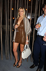 HILARY GILBERT at a party to celebrate the opening of W'Sens - a new fine french restaurant at 12 Waterloo Place, London SW1 on 10th December 2004.<br /><br />NON EXCLUSIVE - WORLD RIGHTS
