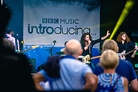 Humber Street, Kingston Upon Hull, East Yorkshire, United Kingdom, 05 August, 2017. Pictured: 'Mint' play the BBC Introducing Stage, Humber Street SESH