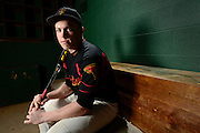 Skyline High School baseball player Adam Reigle poses for a portrait, Thursday, March. 6, 2014, at SHS.(Matthew Jonas/Times-Call)