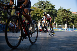 Swiss champion, DOris Schweizer (Cylance Pro Cycling) at Madrid Challenge by La Vuelta an 87km road race in Madrid, Spain on 11th September 2016.