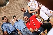 DESCRIZIONE : Roma Lega A1 2008-09 Amichevole Lottomatica Virtus Roma Solsonica Rieti<br /> GIOCATORE : Jasmin Repesa<br /> SQUADRA : Lottomatica Virtus Roma<br /> EVENTO : Campionato Lega A1 2008-2009 <br /> GARA : Lottomatica Virtus Roma Solsonica Rieti<br /> DATA : 08/10/2008 <br /> CATEGORIA : ritratto time out<br /> SPORT : Pallacanestro <br /> AUTORE : Agenzia Ciamillo-Castoria/E.Castoria<br /> Galleria : Lega Basket A1 2008-2009 <br /> Fotonotizia : Roma Campionato Italiano Lega A1 2008-2009 Lottomatica Virtus Roma Solsonica Rieti<br /> Predefinita :