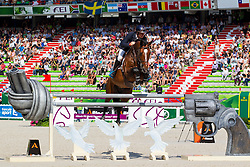 Jamie Kermond, (AUS), Quite Cassini, World Champions, - Second Round Team Competition - Alltech FEI World Equestrian Games™ 2014 - Normandy, France.<br /> © Hippo Foto Team - Leanjo De Koster<br /> 25/06/14