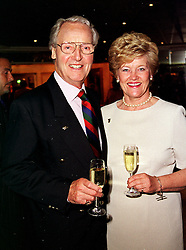 MR & MRS NICHOLAS PARSONS he is the TV presenter,<br />  at a luncheon in London on 23rd June 2000.OFT 3<br /> © Desmond O'Neill Features:- 020 8971 9600<br />    10 Victoria Mews, London.  SW18 3PY <br /> www.donfeatures.com   photos@donfeatures.com<br /> MINIMUM REPRODUCTION FEE AS AGREED.<br /> PHOTOGRAPH BY DOMINIC O'NEILL
