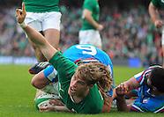 Ireland v Italy 080314