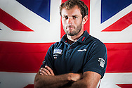 British Olympic RS:X windsurfer silver medalist Nick Dempsey. Professional portrait, by photographer Chris Ison.