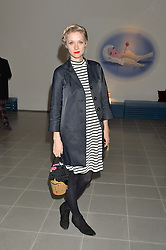 PORTIA FREEMAN at the Future Contemporaries Party in association with Coach at The Serpentine Sackler Gallery, West Carriage Drive, Kensington Gardens, London on 21st February 2015.