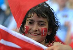 Fan of Turkey before the UEFA EURO 2008 Quarter-Final soccer match between Croatia and Turkey at Ernst-Happel Stadium, on June 20,2008, in Wien, Austria.  Won of Turkey after penalty shots. (Photo by Vid Ponikvar / Sportal Images)