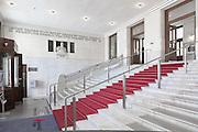 Entrance Hall. Post Office Savings Bank, Vienna, Austria 1904-12 Architect: Otto Wagner