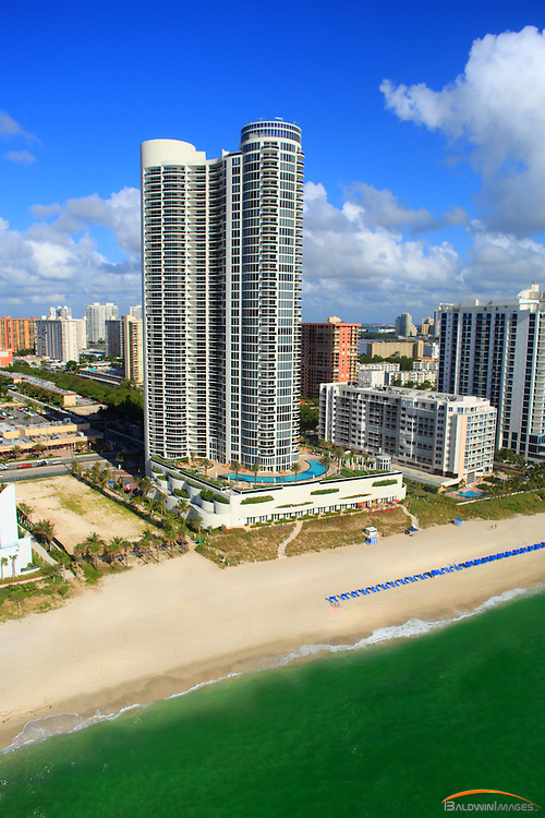 Aerial photograph of Ocean Four