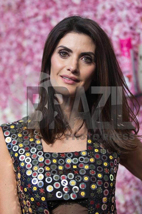 SAO PAULO, SP, 26.10.2016 - SPFW-N42 - A apresentadora Isabella Fiorentino marca presença no São Paulo Fashion Week N42 no Parque do Ibirapuera , zona sul de São Paulo, nesta quarta-feira, 26 (Foto: Ciça Neder / Brazil Photo Press)