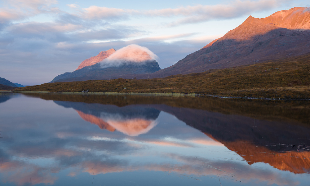 Loch Clair at dawn, Torridon, Scotland