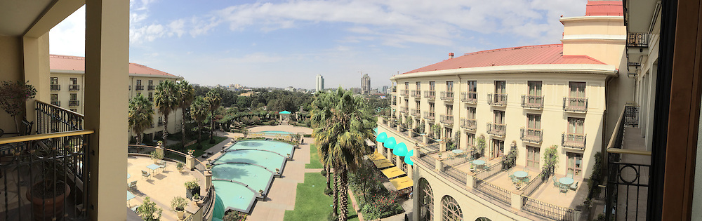 from my room @ the Sheraton Addis