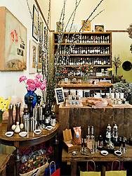Elle Decor Goes to Portland - Interior of The Meadow in the Norht Mississippi Area of Portland OR