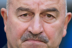 June 25, 2018 - Samara, Russia - Stanislav Cherchesov, Head Coach of Russia, during the 2018 FIFA World Cup Russia group A match between Uruguay and Russia at Samara Arena on June 25, 2018 in Samara, Russia. (Credit Image: © Foto Olimpik/NurPhoto via ZUMA Press)