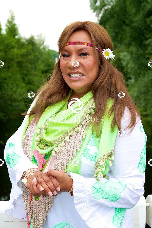 AMSTERDAM - Vandaag is de persdag geweest van het nieuwe SBS6 reallife soap 'Patty's Big Fat Ibiza Wedding'. Met hier op de foto  Patty Brard. FOTO LEVIN DEN BOER - PERSFOTO.NU
