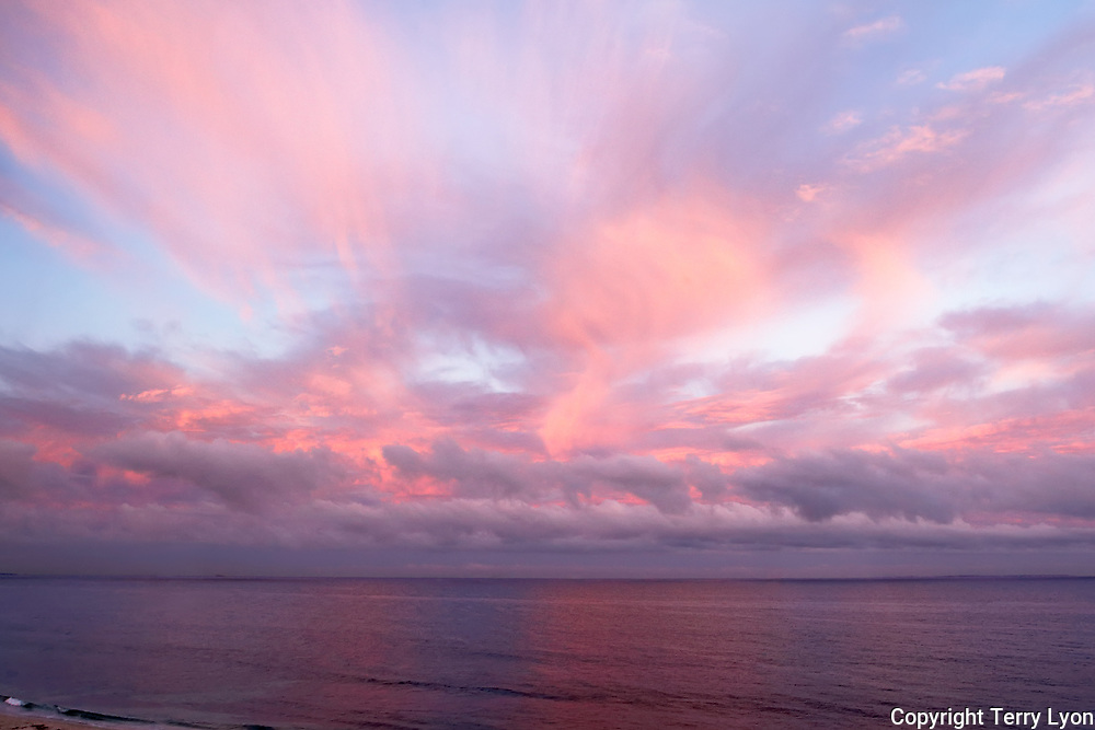 Pink sky sunrise Cottesloe