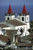 Portugal, Archipel des Açores, Île de Sao Miguel, Sao Bras // Portugal, Azores archipelago, Sao Miguel island, Sao Bras church