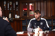Dundee&rsquo;s Rory Loy speaks to the press ahead of the visit of Inverness Caledonian Thistle to Dens  - Dundee FC Presser<br /> <br />  - &copy; David Young - www.davidyoungphoto.co.uk - email: davidyoungphoto@gmail.com