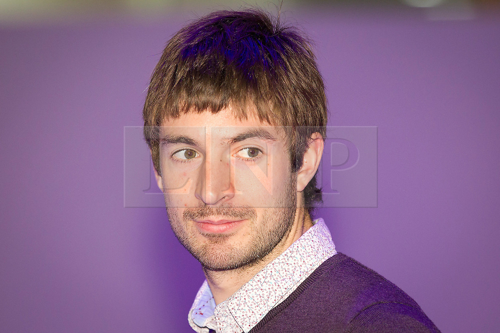 © Licensed to London News Pictures. 14/11/2012. London, UK. Olympic rower Zac Purchase is seen at at the opening of the 2012 Ideal Home at Christmas show at Earl's Court, London, today (14/11/12). The show, running from the 14th to the 18th of November features over 600 exhibitors across 6 sections including; Interiors & Furnishings, Food & Drink, Home Improvements & Outdoor Living, Fashion & Beauty, Technology & Gadgets and Gifts & Decorations. Photo credit: Matt Cetti-Roberts/LNP