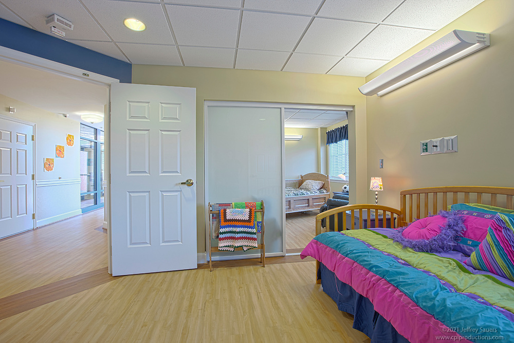 Children's Hospice near Maryland General Hospital Dr. Bob's Place, The Joseph Richey House, interior and exterior building photography.