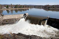 Spring High Water, Connecticut River, Turners Falls, MA.