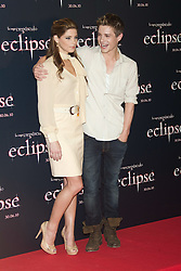 28.06.2010, Hotel Intercontinental, Madrid, ESP, Photocall, The Twilight Saga, im Bild Actress Ashley Greene and actor Xavier Samuel pose at photocall of 'The Twilight Saga: Eclipse'. EXPA Pictures © 2010, PhotoCredit: EXPA/ AlterPhoto/ Cesar Cebolla  +++ Spain OUT +++ / SPORTIDA PHOTO AGENCY