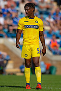 Wycombe Wanderers defender Anthony Stewart (5) during the EFL Sky Bet League 1 match between Gillingham and Wycombe Wanderers at the MEMS Priestfield Stadium, Gillingham, England on 14 September 2019.