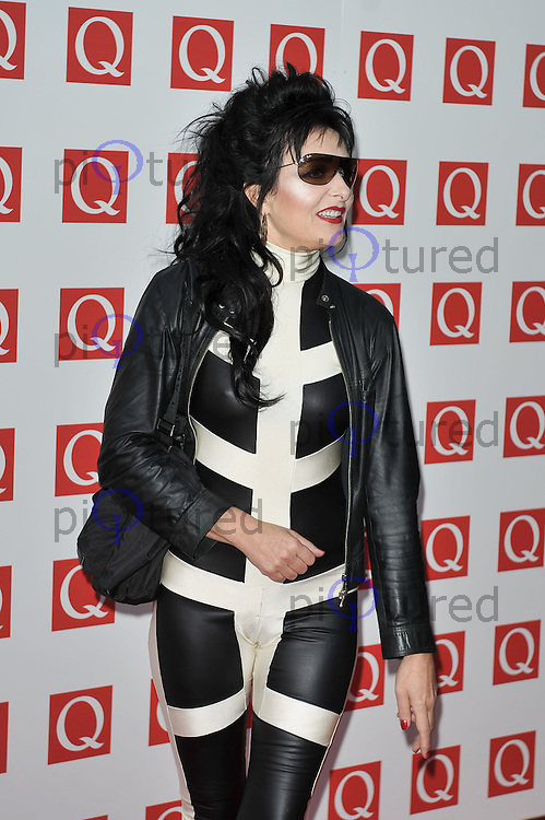 Siouxsie Sioux..Q Awards at the Grosvenor House Hotel, London, UK. 24 October 2011. Contact rich@piqtured.com +44(0)7941 079620(Picture by Awais Butt)