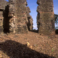 Ruinas de San Pablo, Anzoategui, Venezuela .