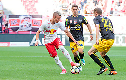 28.05.2017, Red Bull Arena, Salzburg, AUT, 1. FBL, FC Red Bull Salzburg vs Cashpoint SCR Altach, 36. Runde, im Bild Hannes Wolf (FC Red Bull Salzburg), Nikola Dovedan (Altach), Stefan Lainer (FC Red Bull Salzburg) // during Austrian Football Bundesliga 36th round Match between FC Red Bull Salzburg and Cashpoint SCR Altach at the Red Bull Arena, Salzburg, Austria on 2017/05/28. EXPA Pictures © 2017, PhotoCredit: EXPA/ JFK