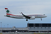T7-MRF MEA - Middle East Airlines Airbus A320-232(WL) at Malpensa (MXP / LIMC), Milan, Italy