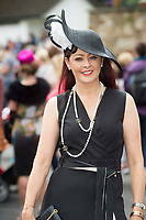17/08/2017 Mandy Maher  who was one judges of the Best dressed  at the Connemara Pony Show in Clifden. Photo:Andrew Downes, xposure