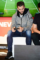 Real Madrid's player Nacho Fernandez attends to the presentation of the new Adidas shoes Red Limit at Adidas Gran Via Store in Madrid. November 28, 2016. (ALTERPHOTOS/Borja B.Hojas)