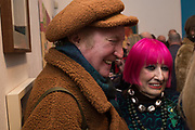 CLOUD DOWNES, ZANDRA RHODES, Them, Redfern Gallery PV. Cork St. London. 22 January 2020
