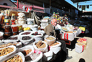 Old market trader in Stepanakert