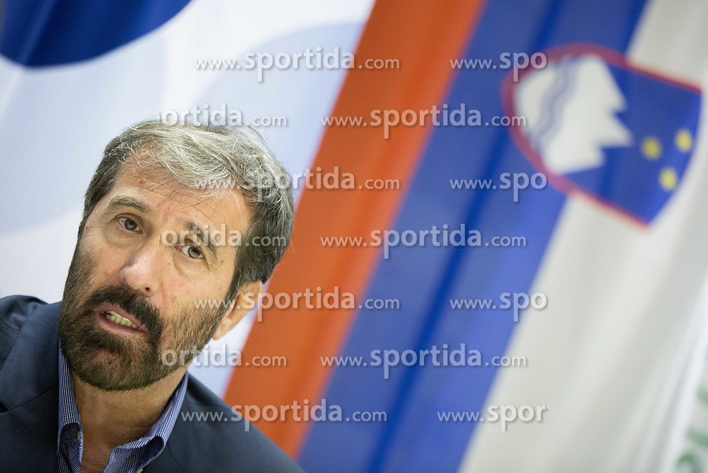 Veselin Vujovic after voting of RZS - Handball federation of Slovenia for a new head coach of Slovenian National Handball Men Team, on May 27, 2015 in RZS, Ljubljana, Slovenia. Photo by Vid Ponikvar / Sportida