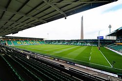 A general view of Franklin's Gardens prior to the competition - Mandatory byline: Patrick Khachfe/JMP - 07966 386802 - 27/07/2018 - RUGBY UNION - Franklin's Gardens - Northampton, England - Premiership Rugby 7s