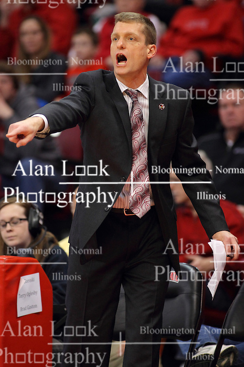 17 February 2016: Luke Yaklich during the Illinois State Redbirds v Indiana State Sycamores at Redbird Arena in Normal Illinois (Photo by Alan Look)