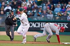 20100609 - Los Angeles Angels at Oakland Athletics (Major League Baseball)
