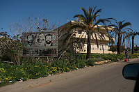 posters of hezbollah leaders and martyrs are never far away in southern lebanon.....