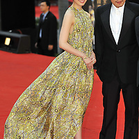 HONG KONG - APRIL 19:  Japanese actress Chie Tanaka and Taiwan's actor Van Fan arrive to the 28th Hong Kong Film Awards 2009 at the Hong Kong's Cultural Centre on April 19, 2009.  Photo by Victor Fraile / studioEAST