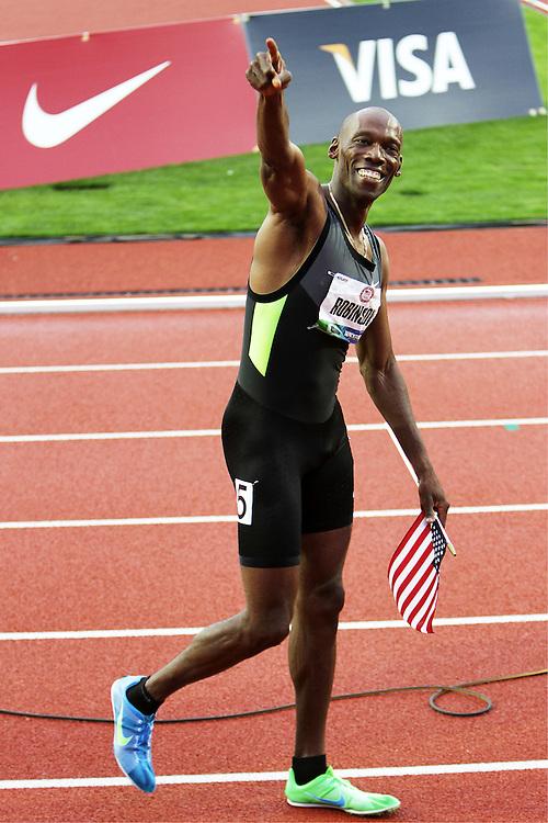 Khadevis Robinson, Olympian, 800 meters, Nike