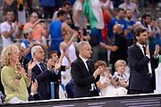 DESCRIZIONE: Torino Turin 2016 FIBA Olympic Qualifying Tournament Finale Final Italia Croazia Italy Croatia<br /> GIOCATORE : Gianni Giovanni Petrucci<br /> CATEGORIA : vip<br /> SQUADRA : Italia Italy<br /> EVENTO : 2016 FIBA Olympic Qualifying Tournament <br /> GARA : 2016 FIBA Olympic Qualifying Tournament Finale Final Italia Croazia Italy Croatia<br /> DATA : 09/07/2016<br /> SPORT: Pallacanestro<br /> AUTORE : Agenzia Ciamillo-Castoria/Max.Ceretti <br /> Galleria : 2016 FIBA Olympic Qualifying Tournament <br /> Fotonotizia : Torino Turin 2016 FIBA Olympic Qualifying Tournament Finale Final Italia Croazia Italy Croatia<br /> Predefinita :