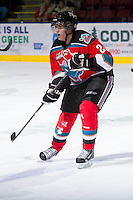 KELOWNA, CANADA - DECEMBER 8:  Henrik Nyberg #21 of the Kelowna Rockets skates on the ice against the  Prince George Cougars at the Kelowna Rockets on December 8, 2012 at Prospera Place in Kelowna, British Columbia, Canada (Photo by Marissa Baecker/Shoot the Breeze) *** Local Caption ***