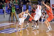 DESCRIZIONE : Roma Campionato Lega A 2013-14 Acea Virtus Roma EA7 Emporio Armani Milano <br /> GIOCATORE : Jimmy Baron Bobby Jones<br /> CATEGORIA : Controcampo Palleggio Blocco<br /> SQUADRA : Acea Virtus Roma<br /> EVENTO : Campionato Lega A 2013-2014<br /> GARA : Acea Virtus Roma EA7 Emporio Armani Milano <br /> DATA : 02/12/2013<br /> SPORT : Pallacanestro<br /> AUTORE : Agenzia Ciamillo-Castoria/GiulioCiamillo<br /> Galleria : Lega Basket A 2013-2014<br /> Fotonotizia : Roma Campionato Lega A 2013-14 Acea Virtus Roma EA7 Emporio Armani Milano <br /> Predefinita :