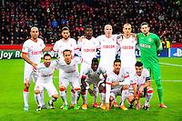 Groupe Monaco - 26.11.2014 - Bayer Leverkusen / Monaco - Champions League<br />Photo : Dave Winter / Icon Sport