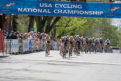 The chase is on with 2 laps to go.  The 2008 USA Cycling Collegiate National Championships Road Race men's division 2 event was held near Fort Collins, CO on May 9, 2008.